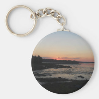 amazing sunset keychain