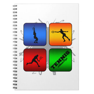 Amazing Tennis Urban Style (Female) Notebook