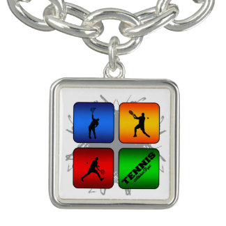 Amazing Tennis Urban Style (Male) Charm Bracelet