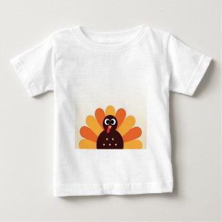 Amazing turkey in brown, yellow baby T-Shirt