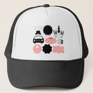 Amazing vintage Mustaches T-Shirts Trucker Hat