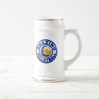 Amazing Volleyball Beer Stein
