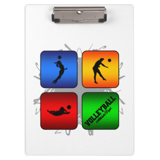 Amazing Volleyball Urban Style Clipboard