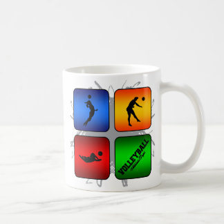Amazing Volleyball Urban Style Coffee Mug