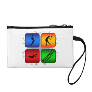 Amazing Volleyball Urban Style Coin Purse