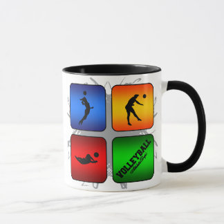 Amazing Volleyball Urban Style Mug