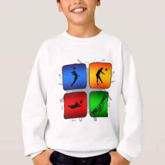 Amazing Volleyball Urban Style Sweatshirt