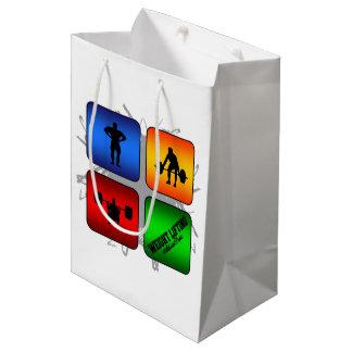 Amazing Weight Lifting Urban Style Medium Gift Bag