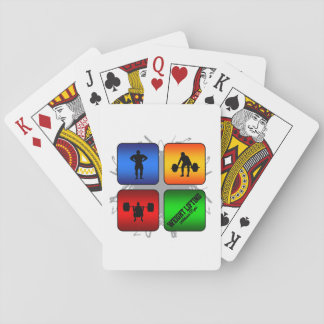 Amazing Weight Lifting Urban Style Playing Cards