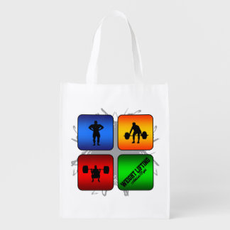 Amazing Weight Lifting Urban Style Reusable Grocery Bag