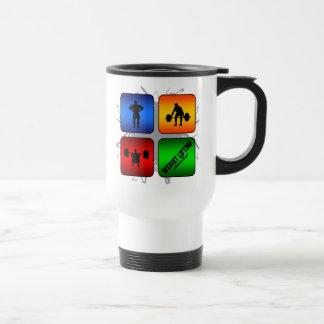 Amazing Weight Lifting Urban Style Travel Mug