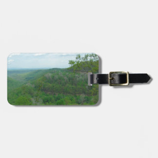 Amazing West Virginia Mountain View Bag Tag