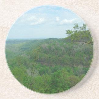 Amazing West Virginia Mountain View Beverage Coaster