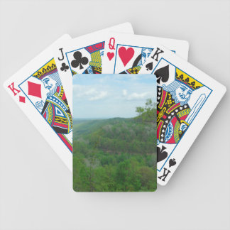 Amazing West Virginia Mountain View Bicycle Playing Cards