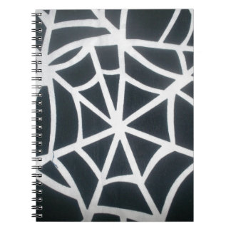 Amazing White and Black web Black and White St Notebooks