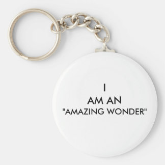 """AMAZING WONDER"" KEYCHAIN"