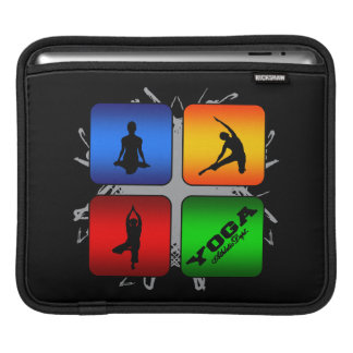 Amazing Yoga Urban Style iPad Sleeve