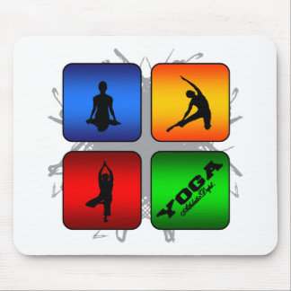 Amazing Yoga Urban Style Mouse Pad