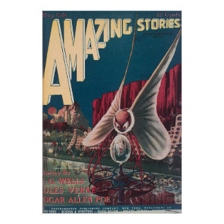 AmazingStories Vol 01 No 02 Poster