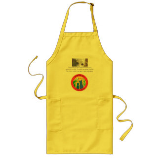 Amazon CARES Apron with quote in Spanis