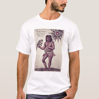 Amazon Indian, engraved by Theodore de Bry T-Shirt