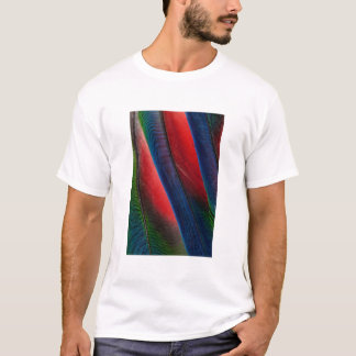 Amazon parrot feather design T-Shirt