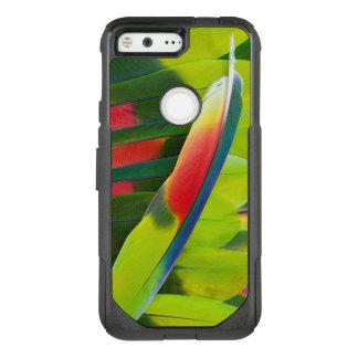 Amazon Parrot Feather Still Life OtterBox Commuter Google Pixel Case
