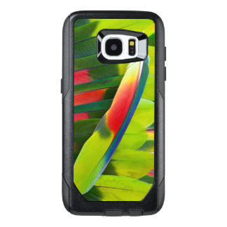 Amazon Parrot Feather Still Life OtterBox Samsung Galaxy S7 Edge Case