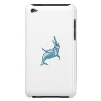Amazon River Dolphin Drawing iPod Case-Mate Cases