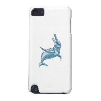 Amazon River Dolphin Drawing iPod Touch (5th Generation) Covers