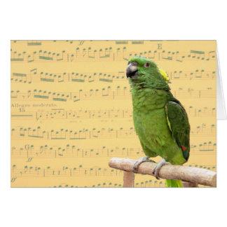 Amazon Singing Large Note Card