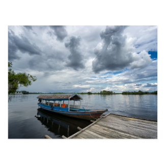 Amazon Tourist Boat Postcard