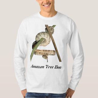 Amazon Tree Boa Basic Long Sleeve T-Shirt