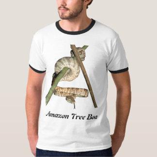 Amazon Tree Boa Ringer T-Shirt