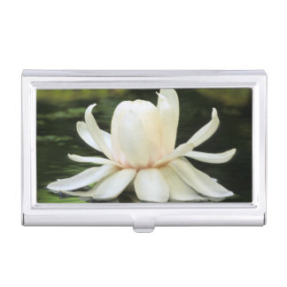 Amazon Water Lily (Victoria Amazonica) Flower Business Card Holders