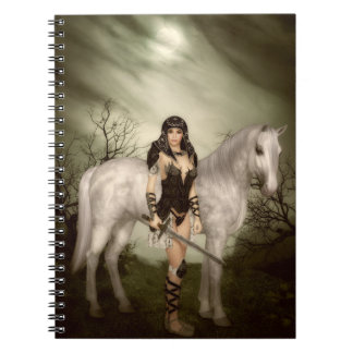 Amazon with Horse Notebook