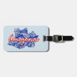Amazonas Luggage Tag