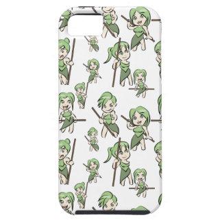 amazonian chibi girls iPhone 5 case