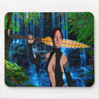 Amazonian Woman Mouse Pad