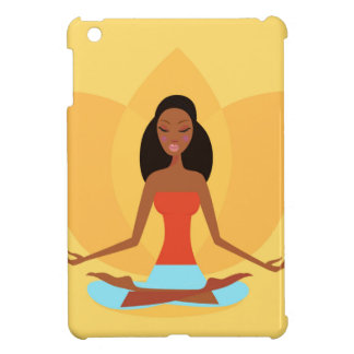 AMAZONIC YOGA PRINCESS WELLNESS GIRL YELLOW CASE FOR THE iPad MINI