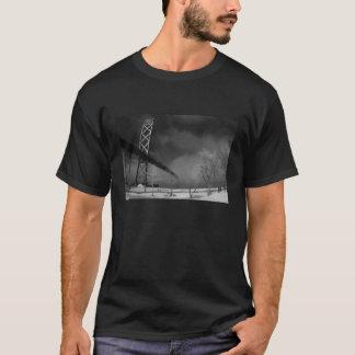 Ambassador Bridge - Detroit Michigan - Infrared T-Shirt