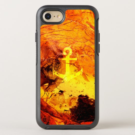 Amber anchor nautical OtterBox symmetry iPhone 7 case