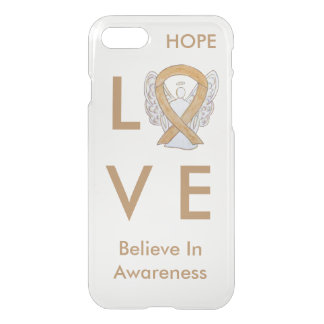 Amber Awareness Ribbon iPhone 7 Angel Case