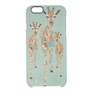 AMBER & AZURE GIRAFFES iPhone Case