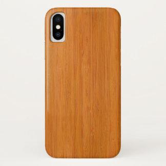Amber Bamboo Wood Grain Look Case-Mate iPhone Case