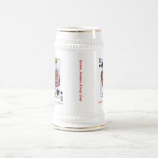 Amber Birthday Beer Stein
