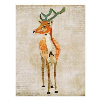 Amber Buck Postcard