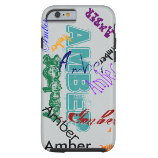 Amber Case iPhone Name Case