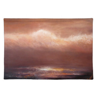 Amber Cloud Cloth Placemat