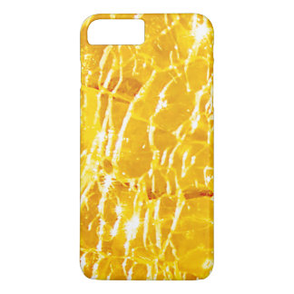 Amber Crackled Glass Design iPhone 7 Plus Case